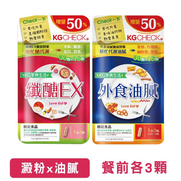 【2入組】纖醣+外食油膩膠囊