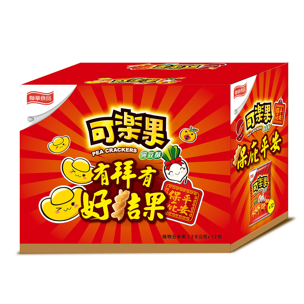 可樂果拜拜箱-原味(28gx12包)