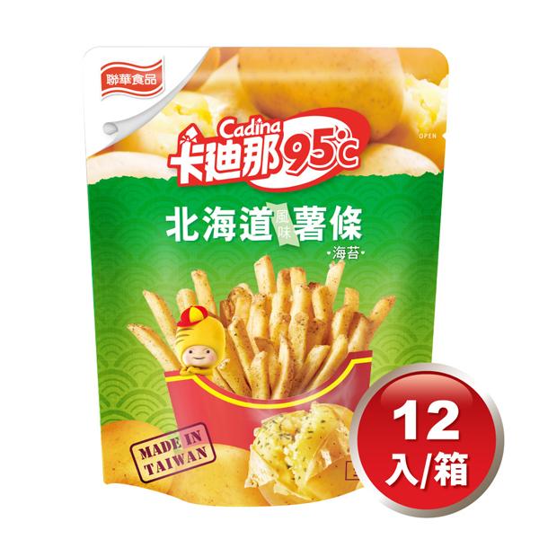 卡迪那95℃海苔風味薯條(40Gx12包)