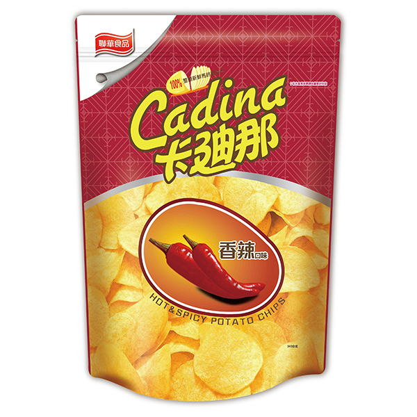 卡迪那洋芋片-香辣口味(340g)