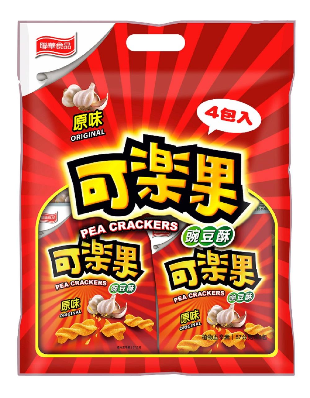 可樂果-原味量販袋(57gx4包)