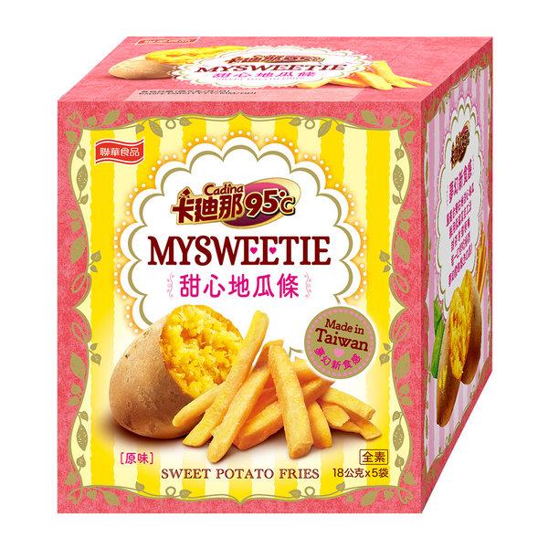 卡迪那95℃薯條-甜心地瓜條(18gX5包)