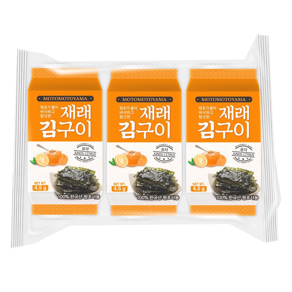 朝鮮海苔-柚香風味-元本山,,★健康x美味x無負擔,U90860002,朝鮮海苔-柚香風味-元本山,