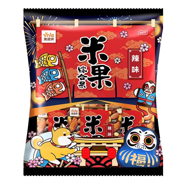米果綜合果辣味-萬歲牌