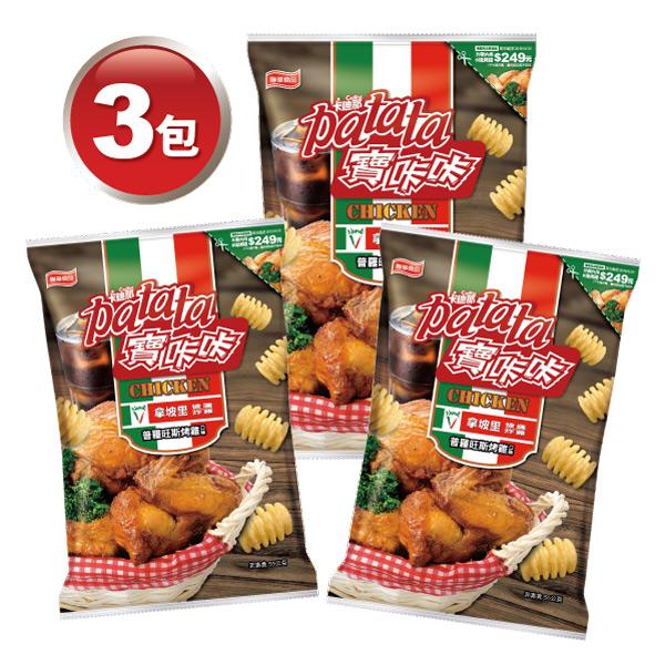 寶咔咔-普羅旺斯烤雞口味X3包