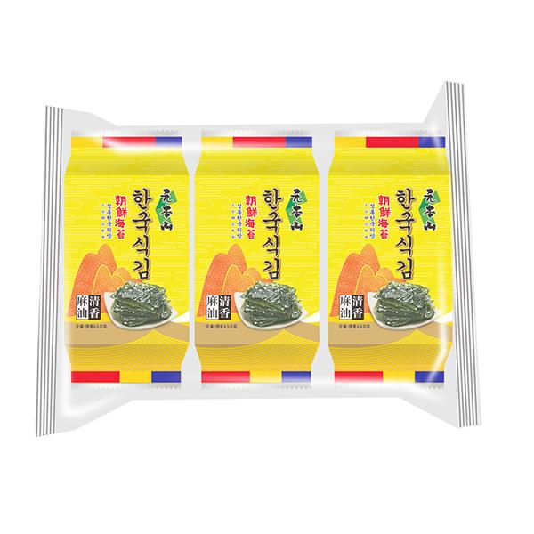 元本山朝鮮海苔(3包入)