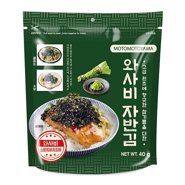 元本山韓國海苔酥-山葵風味(40g)