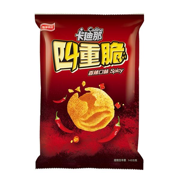 卡迪那四重脆-香辣口味(142g)