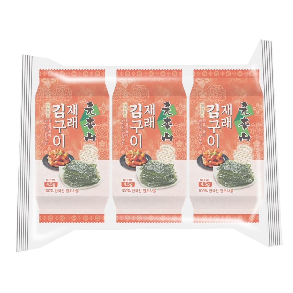 元本山朝鮮海苔-韓式炒年糕風味