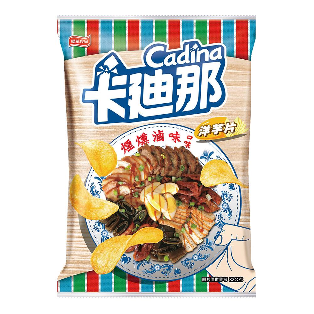 卡迪那-洋芋片煙燻滷味口味(82g),,,U03010001,卡迪那-洋芋片煙燻滷味口味(82g),