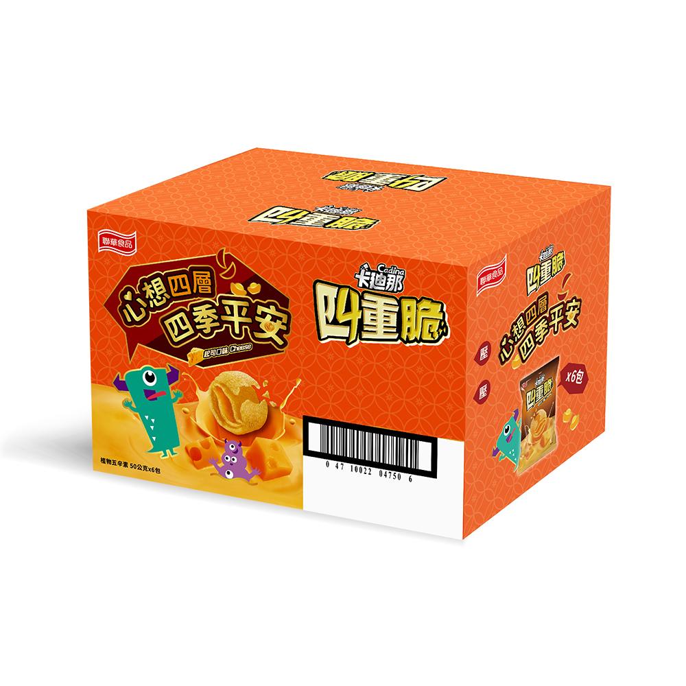 卡迪那-四重脆起司口味(50gx6包)