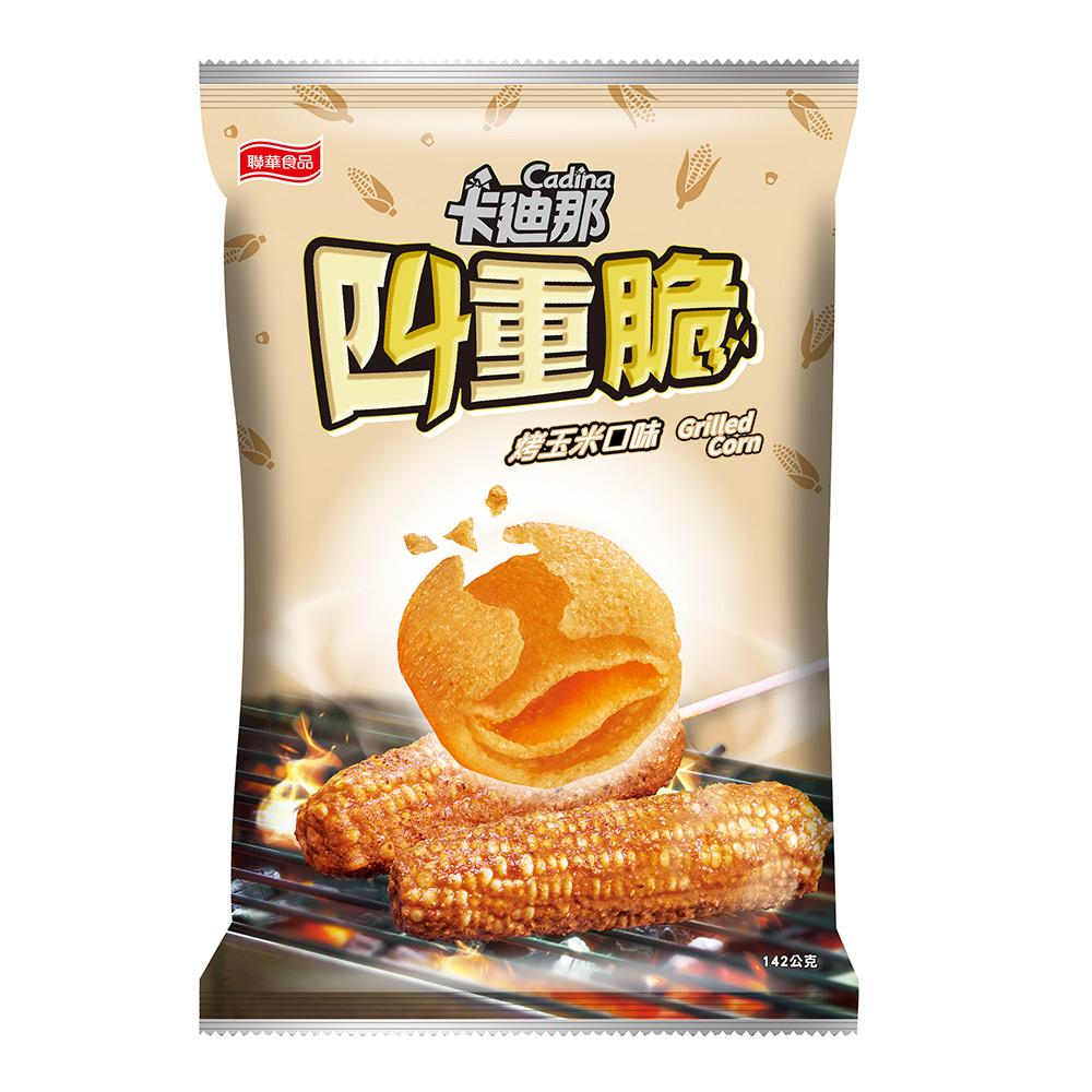 卡迪那-四重脆烤玉米口味(142g)