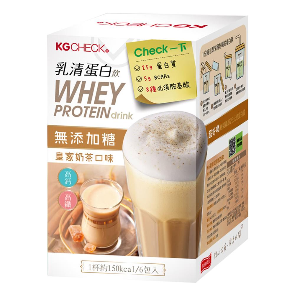 KG蛋白飲-皇家奶茶口味(43gx6包)