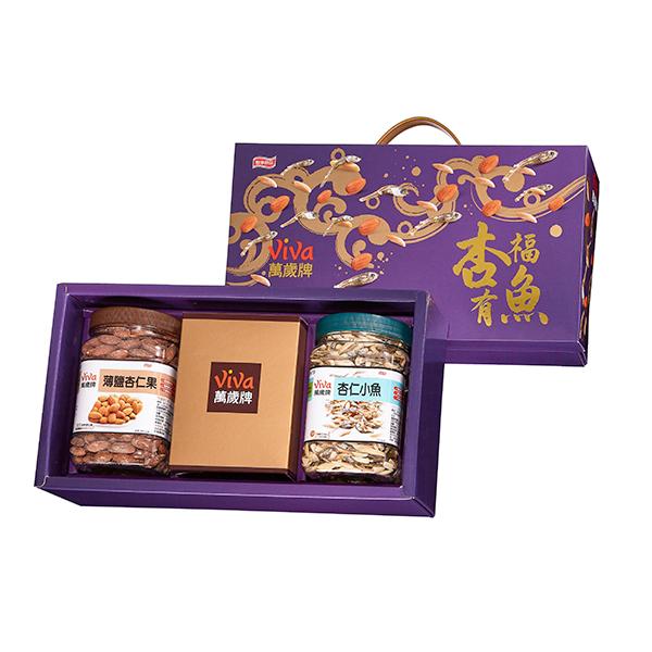 萬歲牌-杏福有魚堅果禮盒