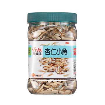杏仁小魚-方形罐-萬歲牌