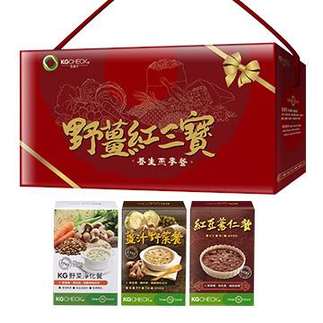 養生燕麥餐-野薑紅三寶