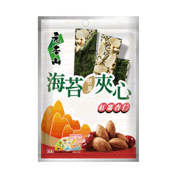 元本山海苔堅果夾心-紅棗杏仁