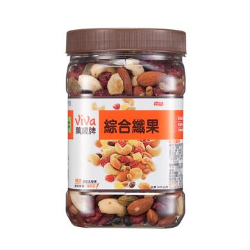 綜合纖果-方型罐-萬歲牌