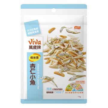 萬歲牌-柿米果杏仁小魚(113g),小魚,杏仁小魚,杏仁果,萬歲牌,烘焙,原味