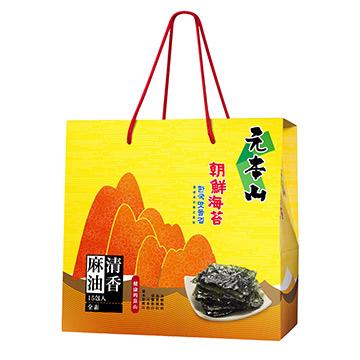 元本山朝鮮海苔禮盒,海苔,麻油,禮盒,★朝鮮海苔 麻油風味★,U53440020